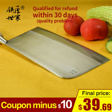 Chef professional chopping knife Chinese handmade forged  stainless steel slicing cleaver fish meat кухонные ножи