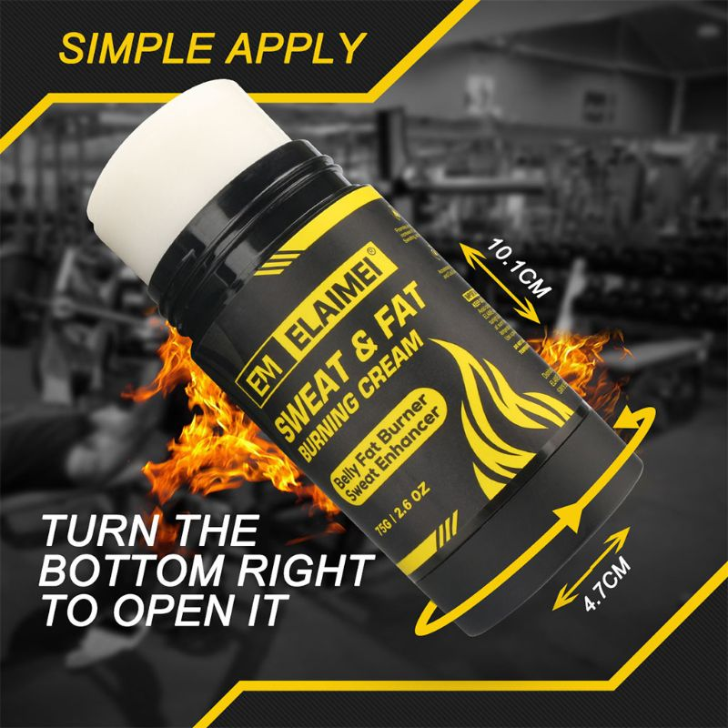 Slimming Belly Fat Burner Sweat Enhancer Burning Cream for Man and Woman