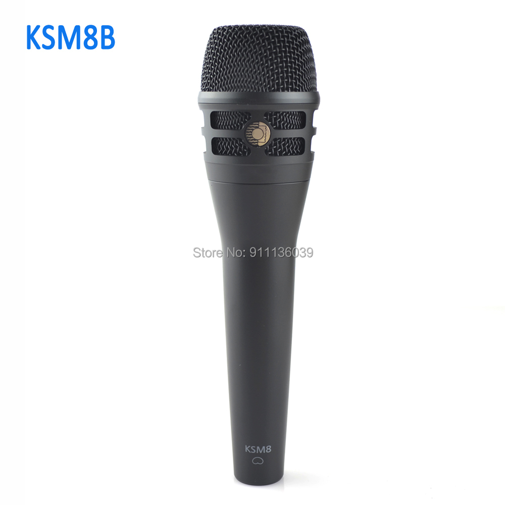 High Quality Edition KSM8N Professional Live Vocals Dynamic Wired Microphone KSM8HS Handheld Mic For Karaoke Studio Recording|Microphones| - AliExpress