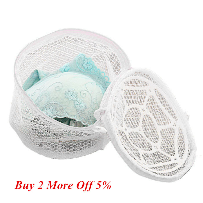 Lingerie Underwear Bra Sock Laundry Washing Aid Net Mesh Zip Bag Rose Household Woman Lady Bra Washing Holder мешок для стирки