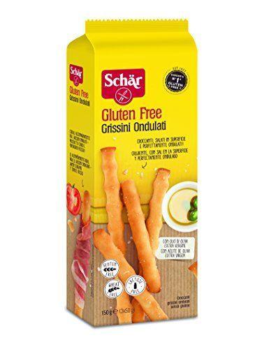 Schar Gluten Wavy Breadsticks 150 G