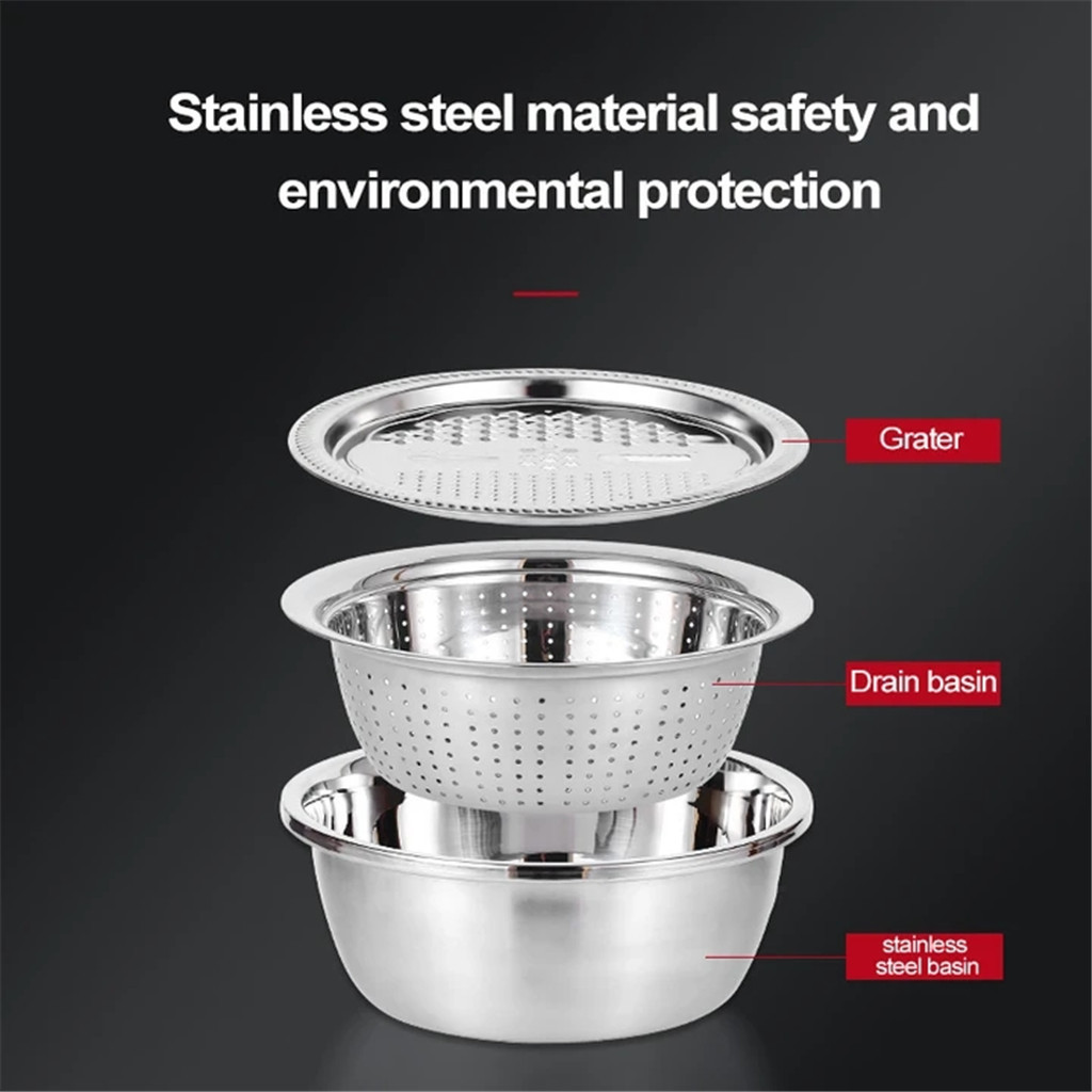 Multifunctional Stainless Steel Basin