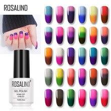 ROSALIND гель Температура Изменение цвета набор гель-лаков для ногтей все для маникюра УФ и светодиодный Лампа гель лак праймер дизайн ногтей