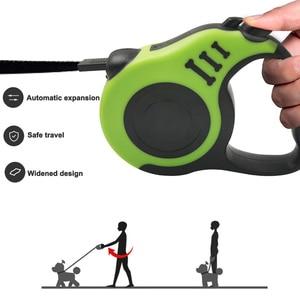 Image 4 - Correa retráctil para perro, Correa automática para perro cachorro, cuerda para mascota, para correr, para pasear, correa extensible para perros pequeños y medianos, productos para mascotas