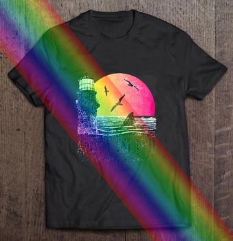 Amity Island wita cię szczęki 70S Film Quints 2276 t-shirt w za dużym rozmiarze dzień ojca prezenty odzież w stylu Harajuku odzież męska tanie i dobre opinie Na zakupy SHORT CN (pochodzenie) COTTON summer Na co dzień Z okrągłym kołnierzykiem tops Z KRÓTKIM RĘKAWEM Sukno Drukuj