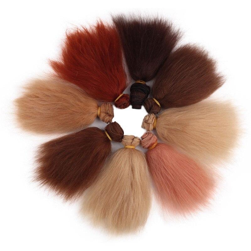 Волосы для кукол ручной работы, 15*100 см/10*100 см, разноцветные мохеровые волосы «сделай сам», парик хорошего качества для кукол BJD SD 1/6 1/8