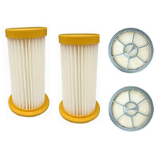 4pcs/sets 2 Vacuum Cleaner filter+2 air Outlet HEPA Filter for Philips FC8208 FC8250 FC8260 FC8262 FC8264