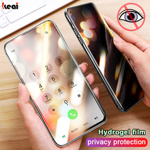 Screen Protector Hydrogel Film For Samsung Galaxy S8 S9 S10 S20 Plus Privacy Protection For Galaxy Note 9 10 20 Film Not Film