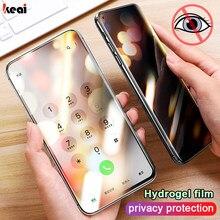 Protector de pantalla de hidrogel para móvil, película de Protección de Privacidad para Samsung Galaxy S8, S9, S10, S20 Plus, Note 9, 10, 20, no película