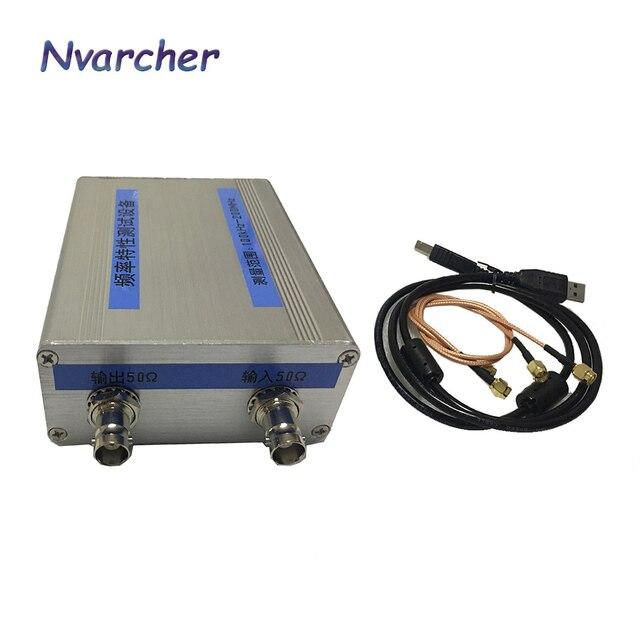 NWT200 50KHz ~ 200MHz Sweeper Network AnalyzerกรองAmplitudeลักษณะความถี่สัญญาณDDS Nwt 200 AD9951