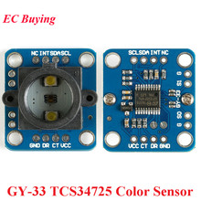 GY-33 TCS34725 Color Sensor Identify Recognition Sensors Module Replace TCS230 TCS3200 GY 33 GY33 DI