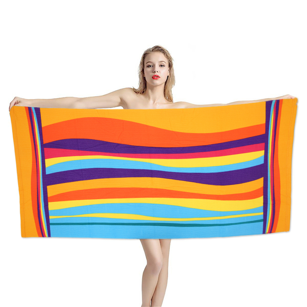 Microfiber Beach Towel Bathroom Towel for Adults Sport/Gym/Bath Towel Blanket Travel Sand Free Large Robe Sport for Sauna Mat