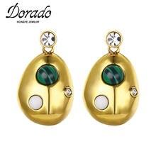 Dorado; Обувь в винтажном стиле; Насекомых Форма свисающие серьги