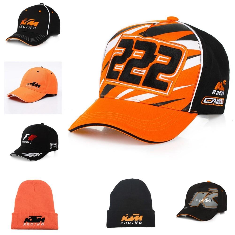Racing Hats Team KTM Cycling Motocross Caps Trucker Bike Snapback 2019 Cotton