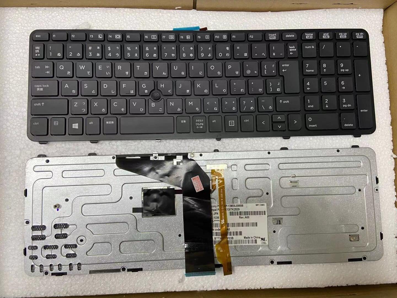 95% новая клавиатура для ноутбука HP ZBOOK15 ZBOOK17 Zbook 15 17 G1 G2 JP без подсветки