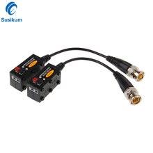 10 пар пассивных витых utp cctv video balun трансивер для hdcvi