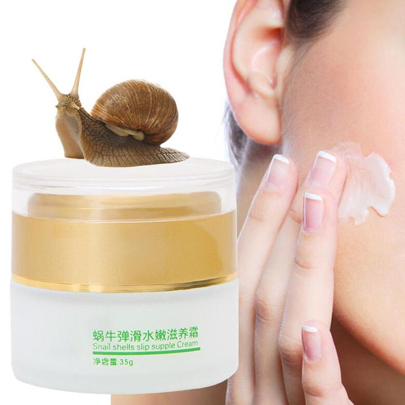40g Snail Face Cream Day Skin Whitening Cream Moisturizers Anti Aging Wrinkle Facial Cream Acne Treatment Face Skin Care Cream