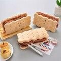 2020 Sharkbang Kawaii Cookie Sandwich Keks Weiche Plüsch Bleistift Fall Tasche Nette Pencilcase Kinder Geburtstag Geschenk Schule Schreibwaren