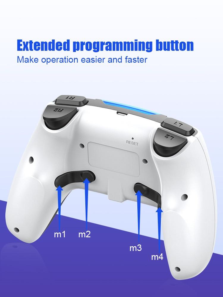 Controlador de jogo sem fio de bluetooth