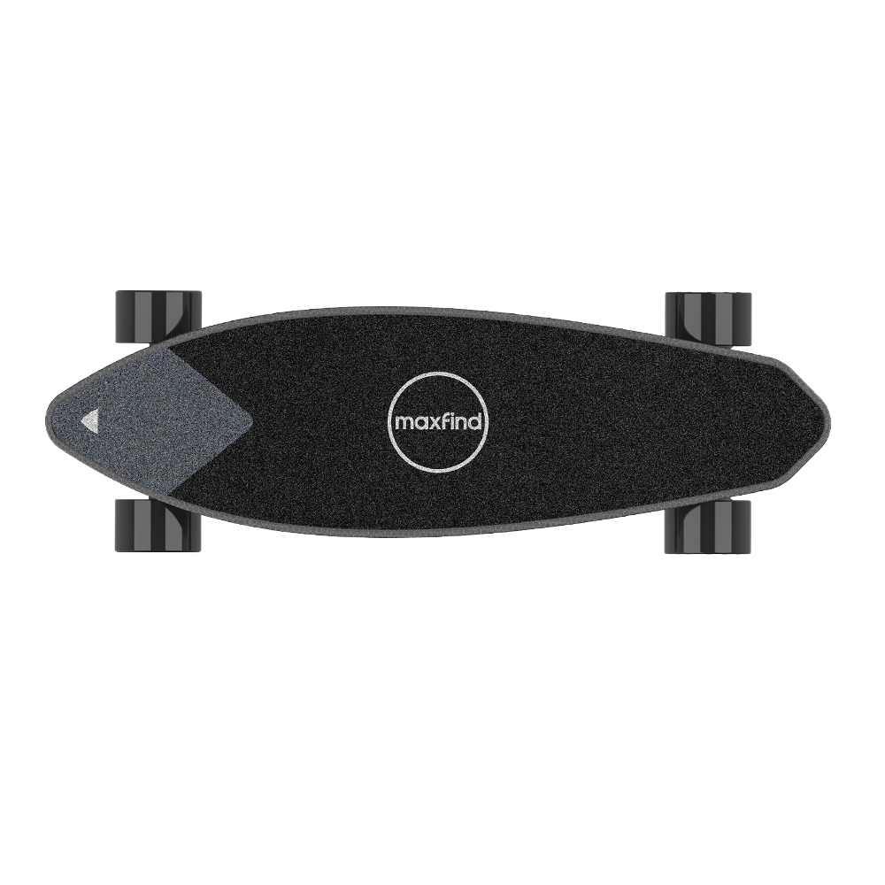 Electric Skateboard 2000W Motor 42km/h With Remote Control Off Road Type 4.4AH Battery Electric Skateboard