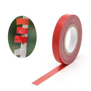 Image 2 - 20pcs pack Garten Werkzeuge Baum Parafilm Elektroschere Engraft Zweig Gartenarbeit bind gürtel PVC binden Band 1,1 CM x 33M / 1 RolI jt002