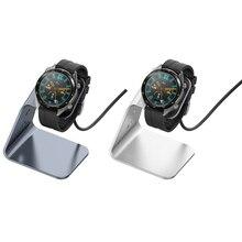 Support de chargeur Compatible avec Huawei  Watch GT, GT2, GT 2e, GS Pro station de chargement en aluminium USB accessoires Smartwatch