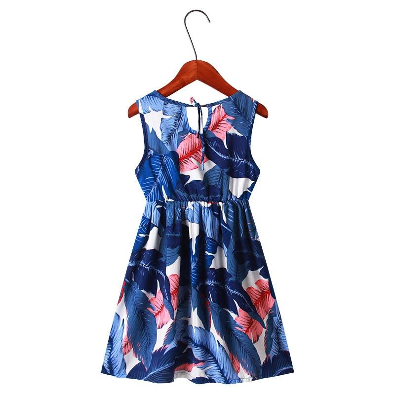 Children Girl Dress Summer Child Girls Clothing Cotton Sleeveless Flower Kids Summer Dresses for baby Clothes girls dresses