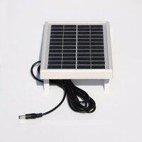 3 w 12 v 미니 태양 전지 다결정 태양 전지 패널 diy 패널 태양 광 배터리 충전기 + dc 5521 케이블 3 m 무료 배송