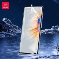 Per Xiaomi Mi Mix 4 Glass, Xundd pellicola salvaschermo per Xiaomi Mi MIX4 pellicola temperata Full Cover HD Prrotector antideflagrante