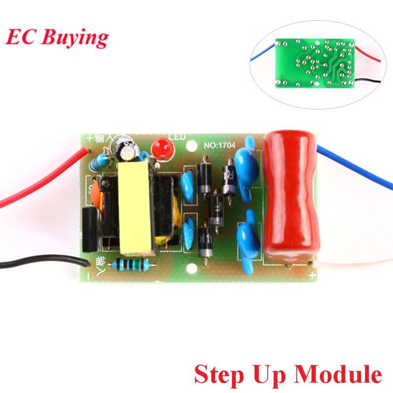 DC 3,7 V zu 1800V Booster Step Up Modul Arc Puls DC Motor mit Hoher Spannung Kondensatoren