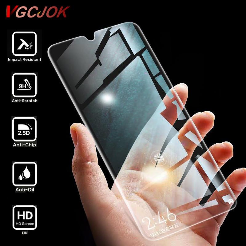 Full Transparent Protection Glass For Xiaomi Mi 9 SE 9T A3 Lite CC9 CC9E Screen Film For Redmi 7 Note 7 Pro 6 6A Tempered Glass