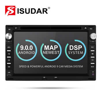 Isudar 2 Din Android 9 Car Radio For VW/Volkswagen/GOLF/POLO/TRANSPORTER/Passat b5 Auto Multimedia DVD Video Player GPS DVR FM - DISCOUNT ITEM  0% OFF All Category