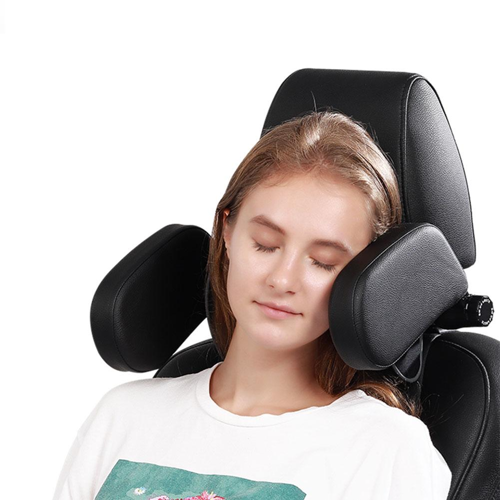 Car Seat Headrest Travel Rest Neck Pillow Support Solution For Kids And Adults Children Auto Seat Head Cushion Car Pillow 3