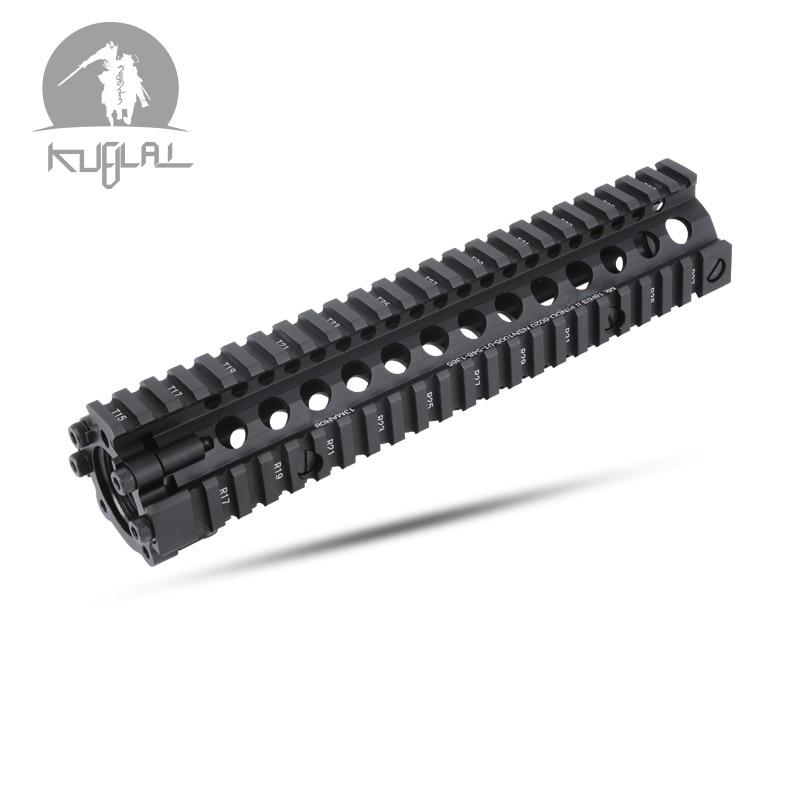 "7"" 9"" 12"" Float MK18 RISII Handguard Picatinny Rail Toy Part for Gel Blaster Water Gun(China)"