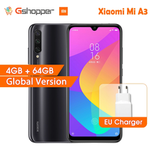 "Version mondiale Xiao mi A3 mi A3 4GB 64GB 32MP + 48MP caméra 4030mAh téléphone portable Snapdragon 665 Octa Core 6.088 ""AMOLED"