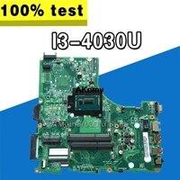 Para For Acer V3-472 E5-471 E5-471G V3-472P computador portátil placa-mãe da0zq0mb6e0 com I3-4030U cpu a bordo 100% totalmente testado trabalho perfeito