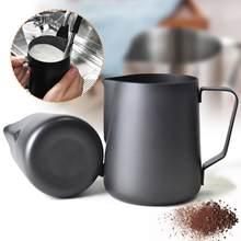 Pichet à mousse de lait antiadhésif en acier inoxydable, pour café expresso, Barista Craft, Latte, Cappuccino, crème