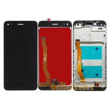 """100% Test Sensor Monitor LCD Display For Huawei Nova lite 2017 SLA L22 5"""" LCD Touch Screen Digitizer Assembly Frame Replacement"""