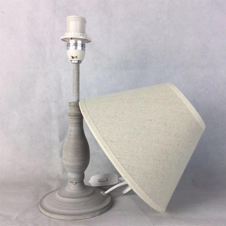 Image 4 - E14 Table Lamp 40w Small  Beige Beside lighting for Bedroom reading LED Bulb Warm White Eye Care Night Light DecorationLED Table Lamps   -