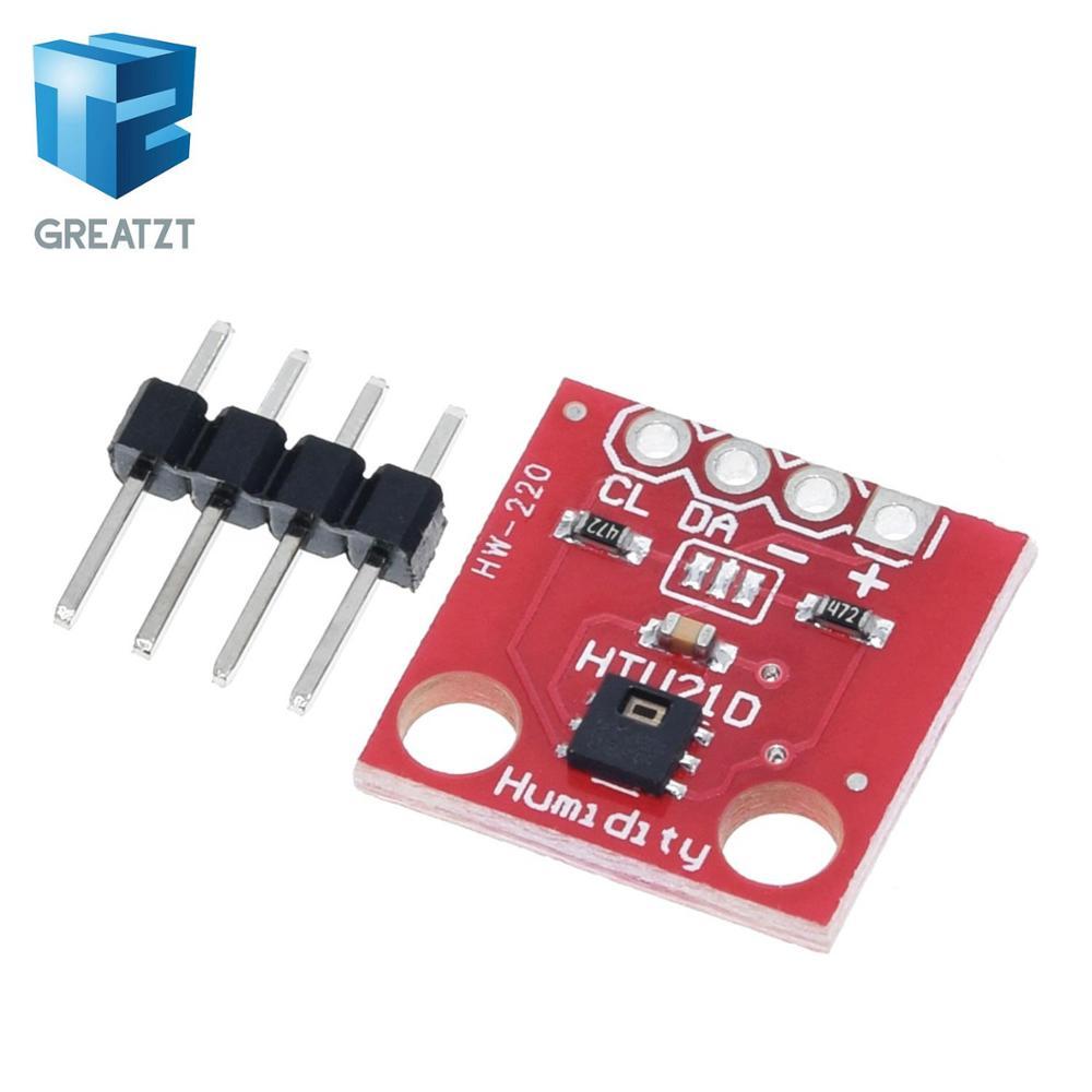 GREATZT 1 stücke HTU21D Temperatur und Feuchtigkeit Sensor Modul Temperatur Sensor Breakout für arduino