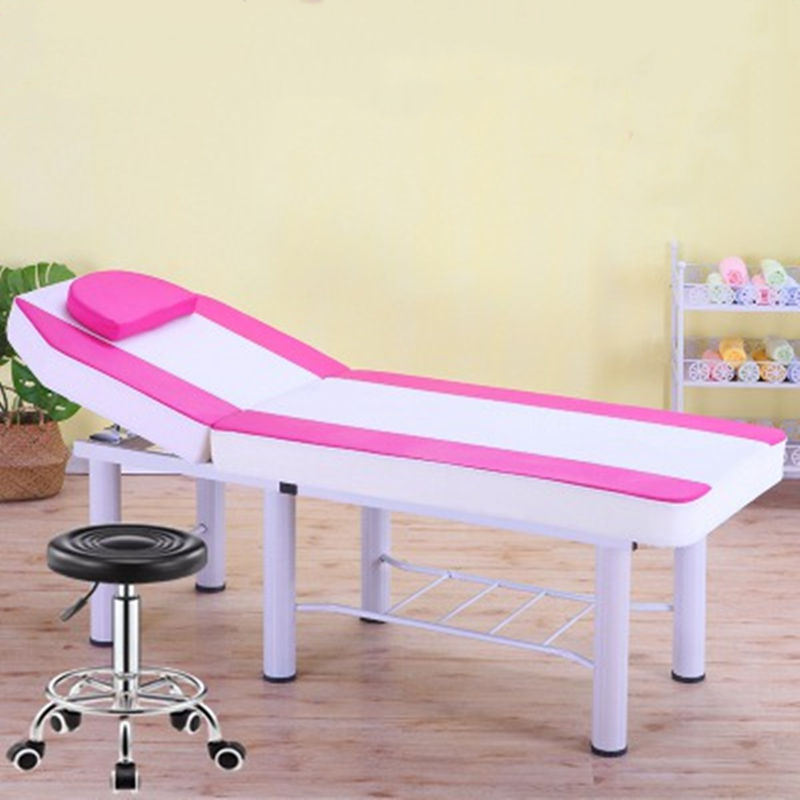 Portable Beauty Bed Beauty Salon Special Inspection Physiotherapy Bed Home Folding Embroidery Massage Bed