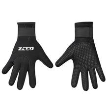 5 мм Мужские и женские перчатки для дайвинга противоскользящие водонепроницаемые теплые регулируемые плавательные теплые перчатки аксессуары для дайвинга Новинка