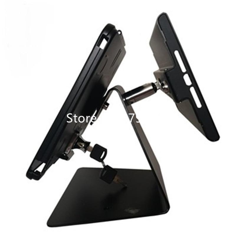 Противоугонный двойной дисплей для ipad 2/3/4/air/mini/pro стенд больничный платежный киоск
