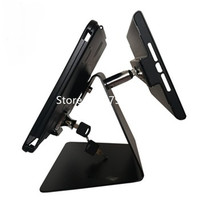 anti theft dual display for ipad 2/3/4/air/mini/pro stand hospital payment kiosk