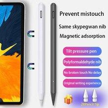 Стилус для iPad, карандаш для iPad Pro 11 12,9 2020 10,2 2019 9,7 Air 3 Mini 5, умный стилус с чувствительностью к наклону для Apple Pencil