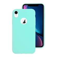 Hole Candy Case for iphone 7 8 6 6s Plus X XS MAX XR 10 Cute Girl Matte Soft Silicone Phone Cover Shell 11