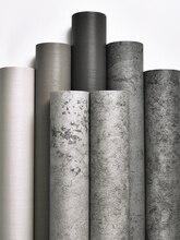 Papel de parede auto adesivo loja de roupas cinza papel de parede nordic vento industrial adesivo de parede decorativo quarto cimento