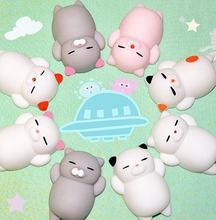 Милые мягкие Мультяшные игрушки в форме животных медленно восстанавливающие