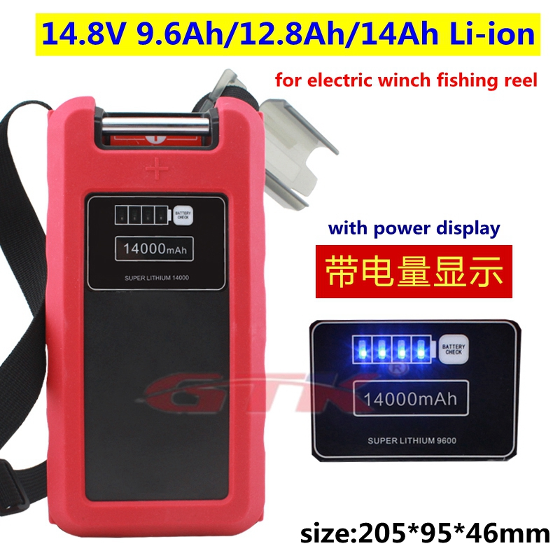 Daiwa Tanacom 750 1000 Fish Electric Reel Battery BM2300 BM2600 Charger US Lot
