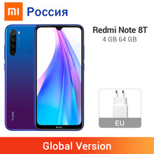 Globale Version Xiaomi Redmi Hinweis 8 T 8 T 4GB 64GB Smartphone NFC Snapdragon 665 Octa Core 48MP quad Kameras 4000mAh Große Batterie(China)